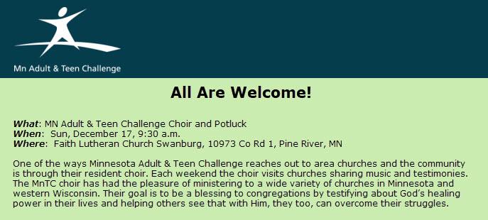 Teen Challenge Banner